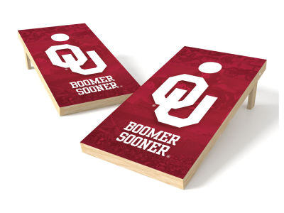 Oklahoma Sooners Wild Sports Authentic Cornhole Toss Game