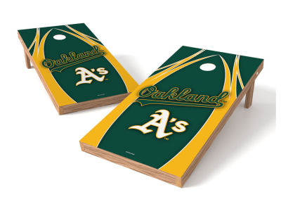 Oakland Athletics Wild Sports Authentic Cornhole Toss Game