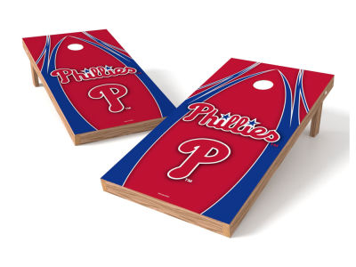 Philadelphia Phillies Wild Sports Authentic Cornhole Toss Game