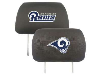Los Angeles Rams Fan Mats Head Rest Cover