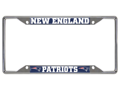 New England Patriots Fan Mats License Plate Frame
