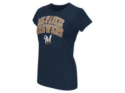Milwaukee Brewers G-III Sports MLB Women's Endzone T-shirt