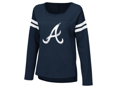 Atlanta Braves G-III Sports MLB Women's Free Agent Long Sleeve T-shirt