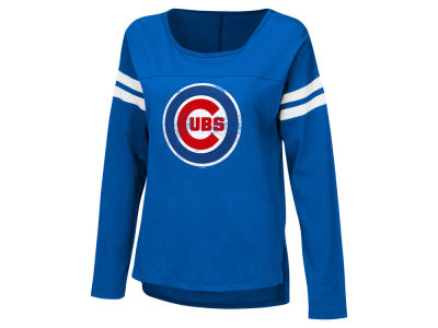 Chicago Cubs G-III Sports MLB Women's Free Agent Long Sleeve T-shirt