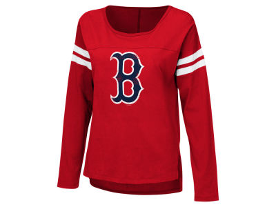 Boston Red Sox G-III Sports MLB Women's Free Agent Long Sleeve T-shirt
