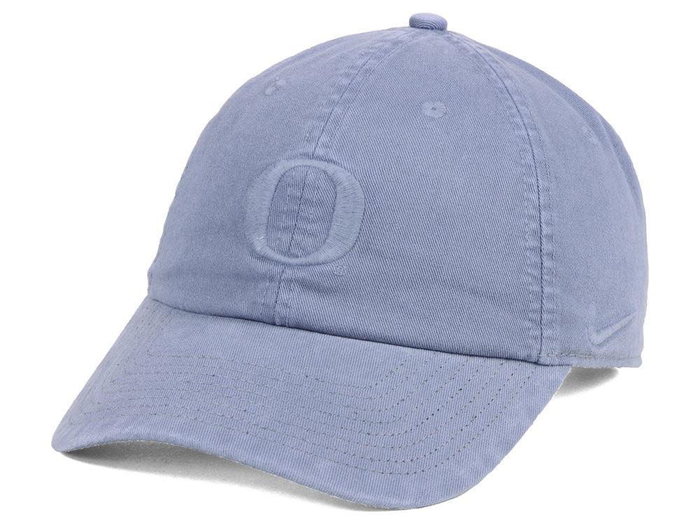Oregon Ducks Nike NCAA Pigment Dye Easy Adjustable Cap  eac1dc00937