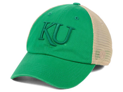 14befd77cfc Kansas Jayhawks Top of the World NCAA Snog St. Paddys Adjustable Cap