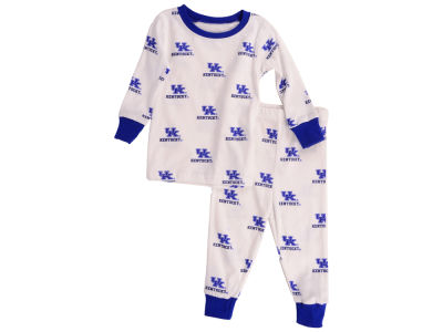 Kentucky Wildcats Wes and Willy NCAA Infant Allover Print Pajama Set