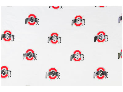 Ohio State Buckeyes Wes and Willy NCAA Allover Print Crib Sheet
