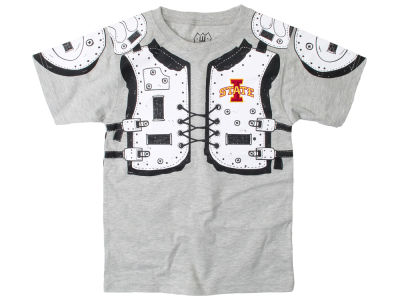 Iowa State Cyclones Wes and Willy NCAA Toddler Shoulder Pads T-Shirt