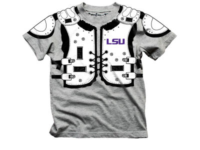 LSU Tigers Wes and Willy NCAA Toddler Shoulder Pads T-Shirt