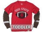 Ohio State Buckeyes NCAA Toddler Football Sleeve 2 In 1 T-Shirt T-Shirts