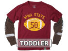 Iowa State Cyclones NCAA Toddler Football Sleeve 2 In 1 T-Shirt T-Shirts