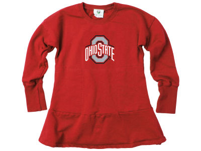 Ohio State Buckeyes Wes and Willy NCAA Toddler Girls Fleece Dress