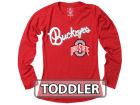 Ohio State Buckeyes NCAA Toddler Girls Long Sleeve Tunic Dresses