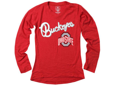 Ohio State Buckeyes Wes and Willy NCAA Toddler Girls Long Sleeve Tunic