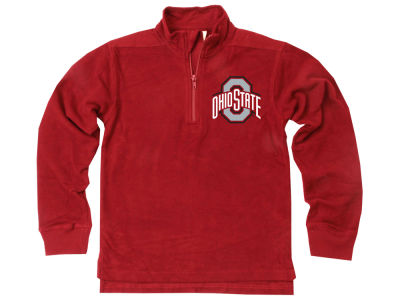 Ohio State Buckeyes Wes and Willy NCAA Kids Quarter Zip Pullover