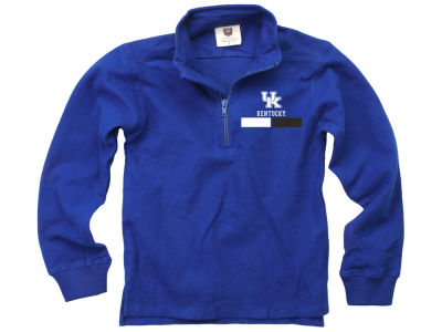 Kentucky Wildcats Wes and Willy NCAA Kids Quarter Zip Pullover