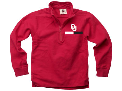 Oklahoma Sooners Wes and Willy NCAA Kids Quarter Zip Pullover