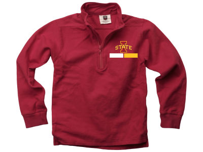 Iowa State Cyclones Wes and Willy NCAA Kids Quarter Zip Pullover