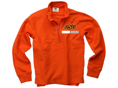 Oklahoma State Cowboys Wes and Willy NCAA Kids Quarter Zip Pullover