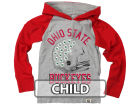 Ohio State Buckeyes NCAA Kids Hooded Raglan Long Sleeve T-Shirt T-Shirts