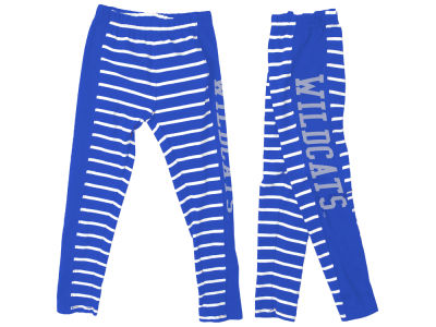 Kentucky Wildcats Wes and Willy NCAA Kids Girls Stripe Legging