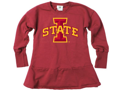 Iowa State Cyclones Wes and Willy NCAA Kids Girls Fleece Dress