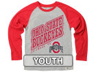Ohio State Buckeyes NCAA Youth Heather Raglan T-shirt T-Shirts