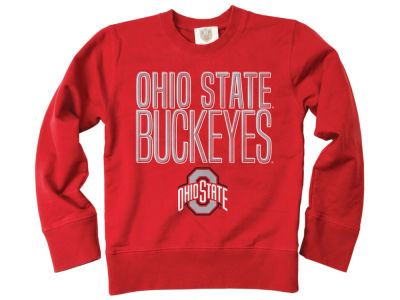 Ohio State Buckeyes Wes and Willy NCAA Youth Crewneck Sweatshirt