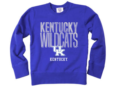 Kentucky Wildcats Wes and Willy NCAA Youth Crewneck Sweatshirt