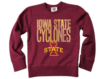 Iowa State Cyclones Wes and Willy NCAA Youth Crewneck Sweatshirt