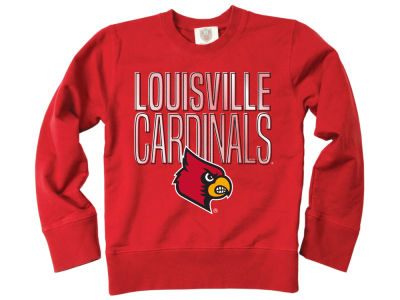 Louisville Cardinals Wes and Willy NCAA Youth Crewneck Sweatshirt