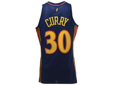 f06b21652 Golden State Warriors Stephen Curry Mitchell   Ness NBA Men s Hardwood  Classic Swingman Jersey