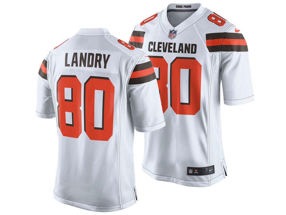 fcfb7bd0a Cleveland Browns Jarvis Landry Nike NFL Men s Game Jersey