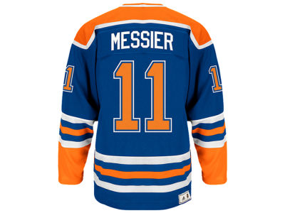 Edmonton Oilers Mark Messier adidas NHL Men's Heroes of Hockey Player Jersey