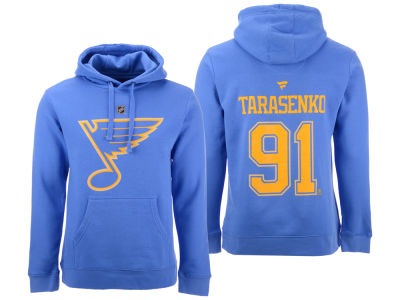 St. Louis Blues Vladimir Tarasenko NHL NHL Men's Authentic Stack Name and Number Hoodie