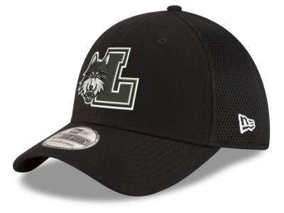 Loyola Ramblers New Era NCAA Black White Neo 39THIRTY Cap