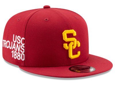 USC Trojans New Era NCAA Tag Turn 9FIFTY Snapback Cap 48be73511fdc