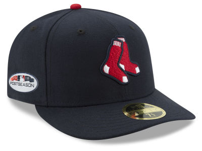 Boston Red Sox New Era 2018 MLB Postseason Patch Low Profile 59FIFTY Cap