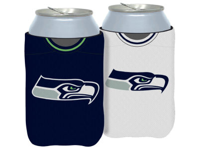 Seattle Seahawks 2 Sided Jersey Coozie
