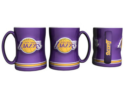 Los Angeles Lakers Relief Mug - 14oz