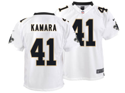 51f0957dd New Orleans Saints Alvin Kamara Nike NFL Youth Game Jersey