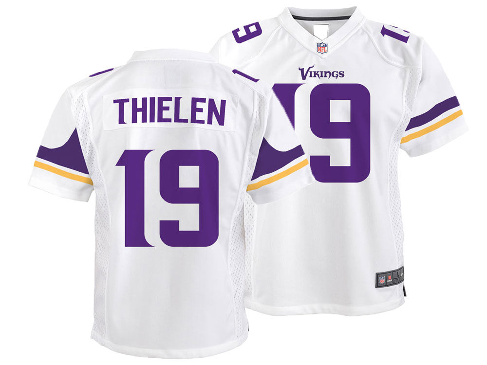 2096860d1 Minnesota Vikings Adam Thielen Nike NFL Youth Game Jersey
