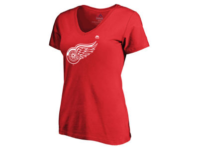 Detroit Red Wings Majestic NHL Women's Primary Logo T-Shirt