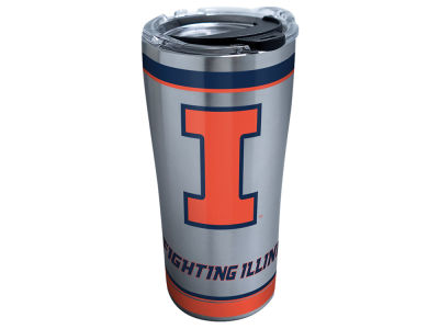 Illinois Fighting Illini Tervis 20oz NCAA Tradition Stainless Steel Tumbler