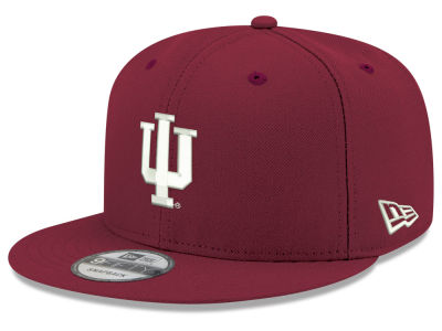 Indiana Hoosiers New Era NCAA Youth Core 9FIFTY Snapback Cap