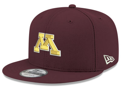 Minnesota Golden Gophers New Era NCAA Youth Core 9FIFTY Snapback Cap