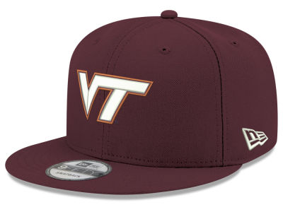 Virginia Tech Hokies New Era NCAA Youth Core 9FIFTY Snapback Cap 5f1800506