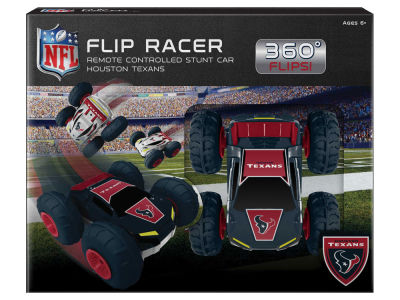 Houston Texans Remote Control Flip Racer Stunt Car Toy